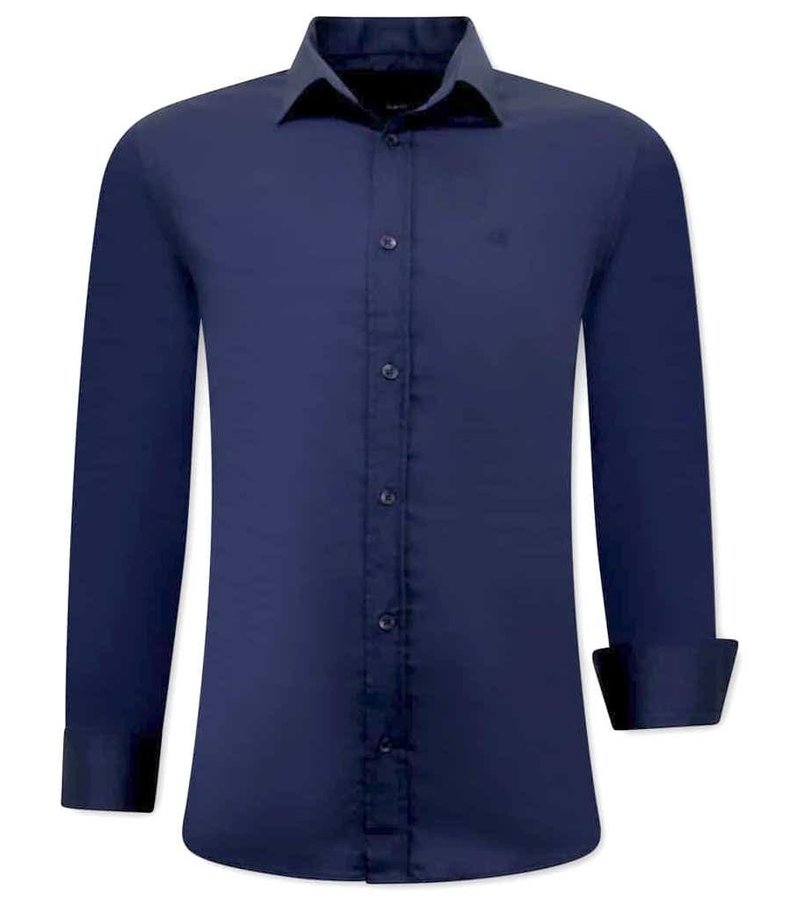 Tony Backer Business Skjorta Herr - 3057 - Blå