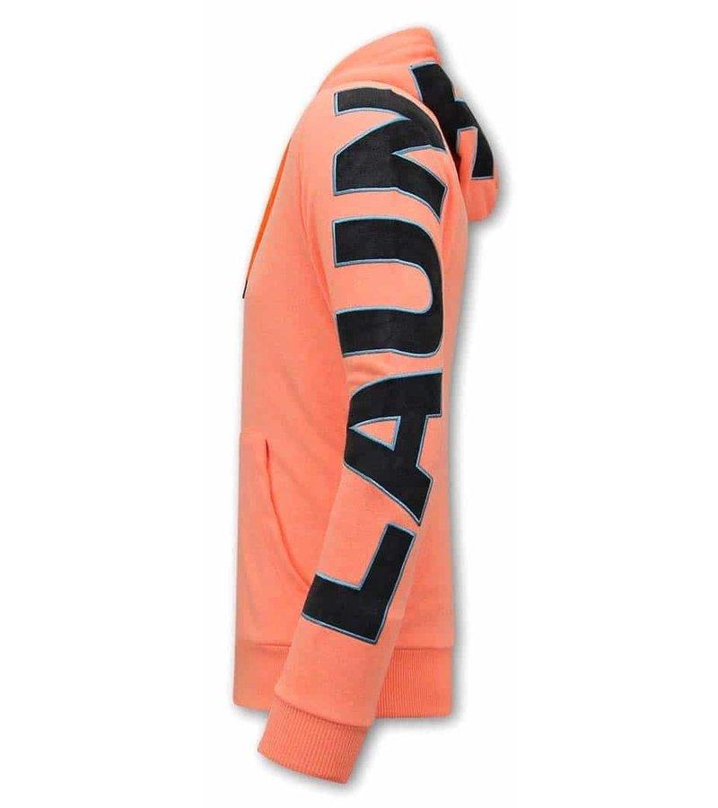 Tony Backer Oversized Huvtröja Herr - Orange
