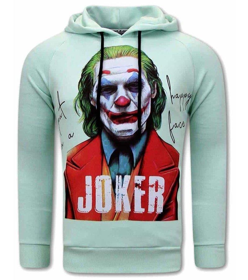 Tony Backer Joker Huvtröja Herr - Grön