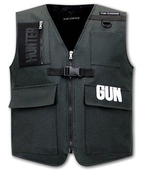 Tony Backer FBI väst för män - 21007 - Svart