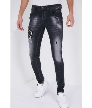 True Rise Herr Jeans  Slim Fit - 5501A - Svart