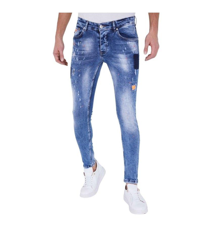 True Rise Jeans Ljusblå Herr - 5301A - Blå