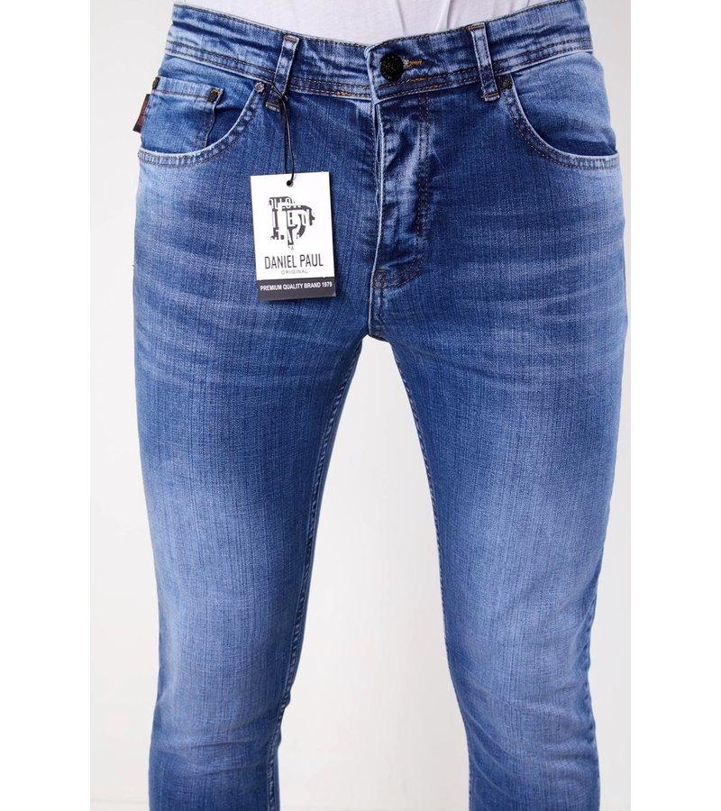 True Rise Stretch Jeans Herr Slim Fit - 5307 - Blå