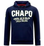 Local Fanatic  Herr Huvtröja El Chapo - Blå