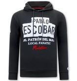 Local Fanatic Huvtröja Herr Pablo Escobar - Svart