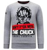 Local Fanatic Tröjor Herr Chucky - Grå