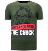 Local Fanatic Childs Play T shirt Herr - Grön