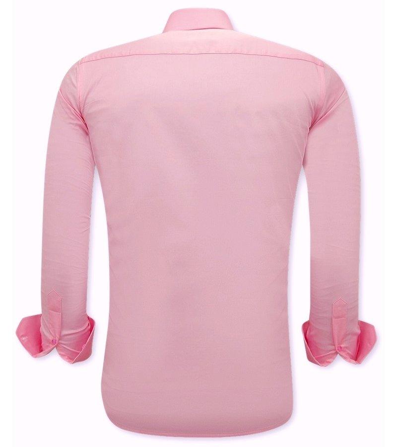 Tony Backer Skjortor Till Män - 3071 - Rosa