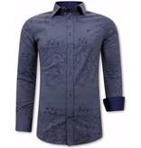 Tony Backer Skjorta Med Stretch - 3066NW - Bla