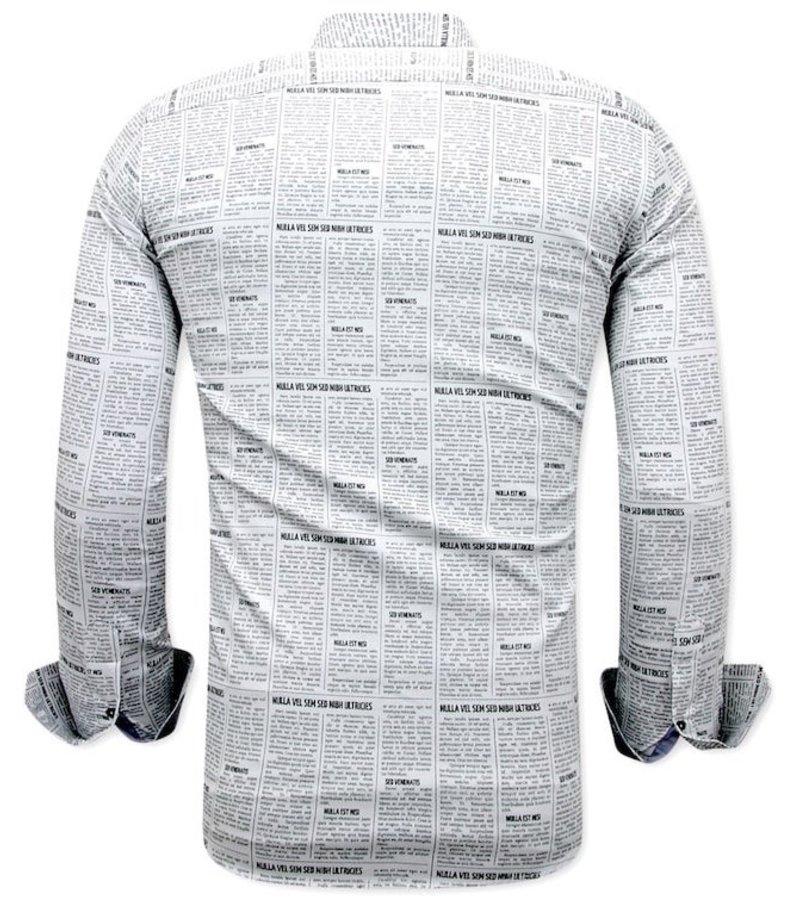 Tony Backer Skjorta Sommar - 3077NW - Vit