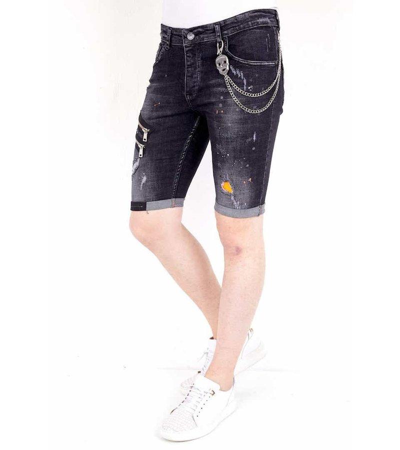 Local Fanatic Tuffa Shorts Herr- 1019 - Svart