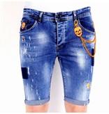 Local Fanatic Shorts Stretch Herr - 1014 - Bla