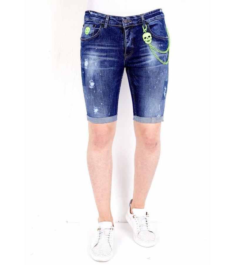 Local Fanatic Capri Shorts Herr - 1017 - Bla