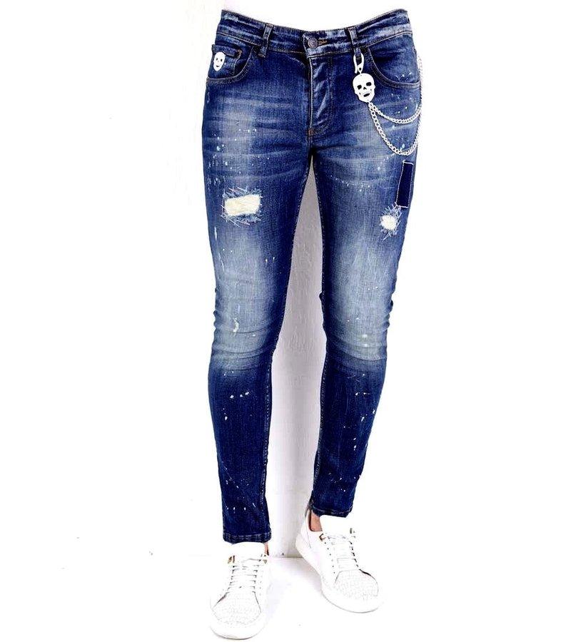 Local Fanatic Jeans Slim Fit Herr - 1010 - Bla