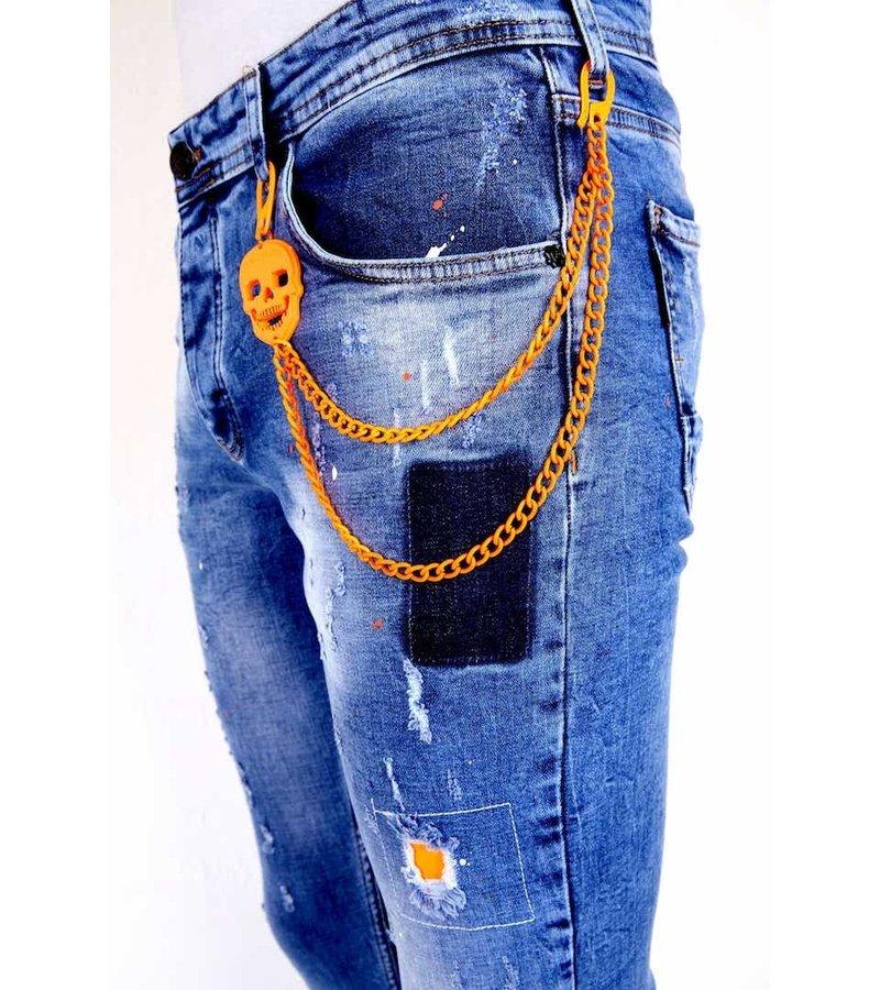 Local Fanatic Jeans Stretch Herr - 1008 - Bla
