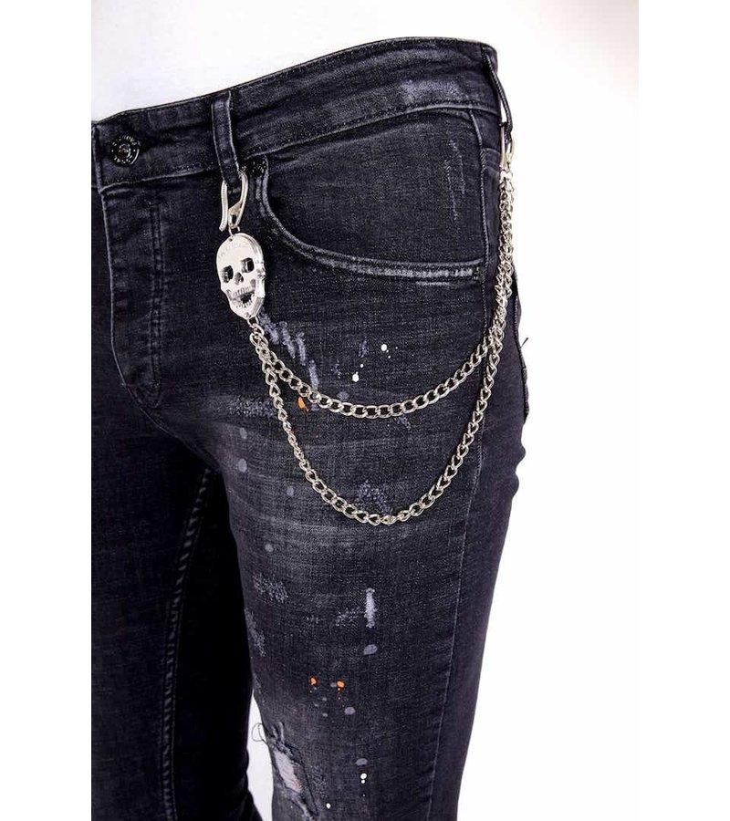 Local Fanatic Jeans Modeller Herr - 1007- Svart