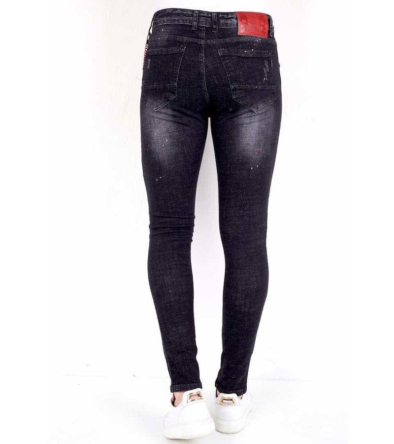 Local Fanatic Slim Jeans Kille - 1012 - Svart