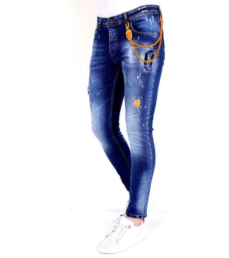 Local Fanatic Snygga Jeans Herr 2021 - 1006 - Bla