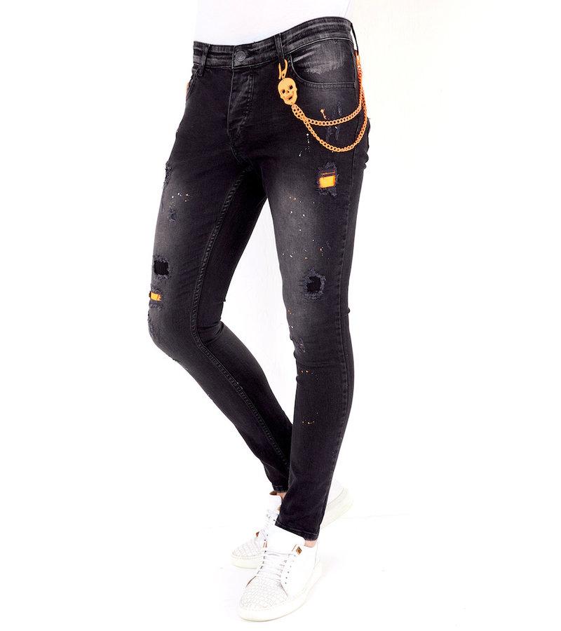Local Fanatic Jeans Med Stretch Herr - 1028 - Svart