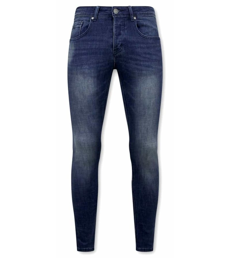 True Rise Billiga Jeans Online - D-3058 - Bla