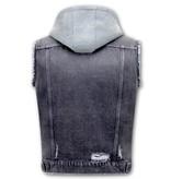 Enos Jeansväst Herr - RJ9105 - Svart