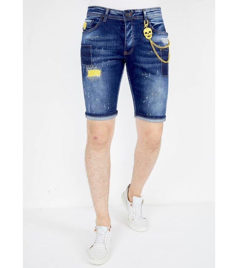 Local Fanatic Shorts stretch Herr - 1052 - Bla