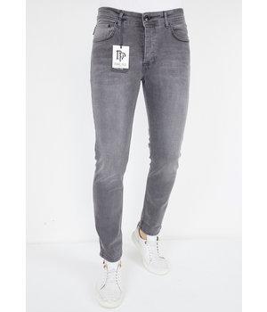 True Rise Jeans Med Raka Ben - A61.G - Gra
