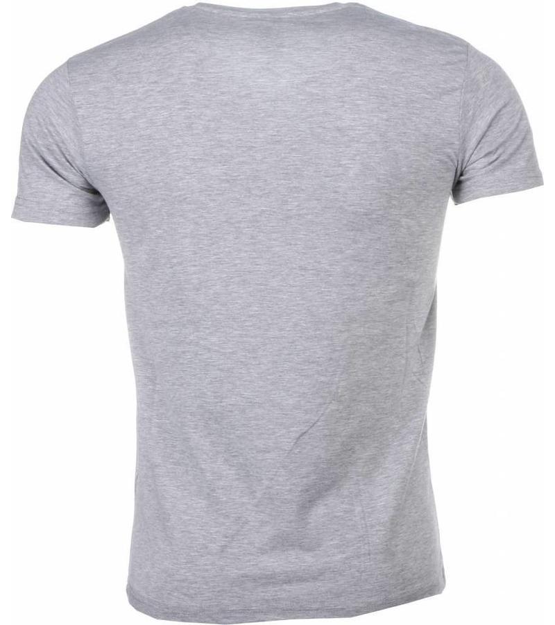 Mascherano Bunny Destroy - T Shirt Herr - 1334G - Grå