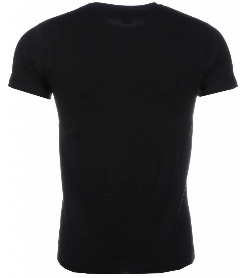 Mascherano The Ladies Love Me Print - Man T shirt - 2001Z - Svart
