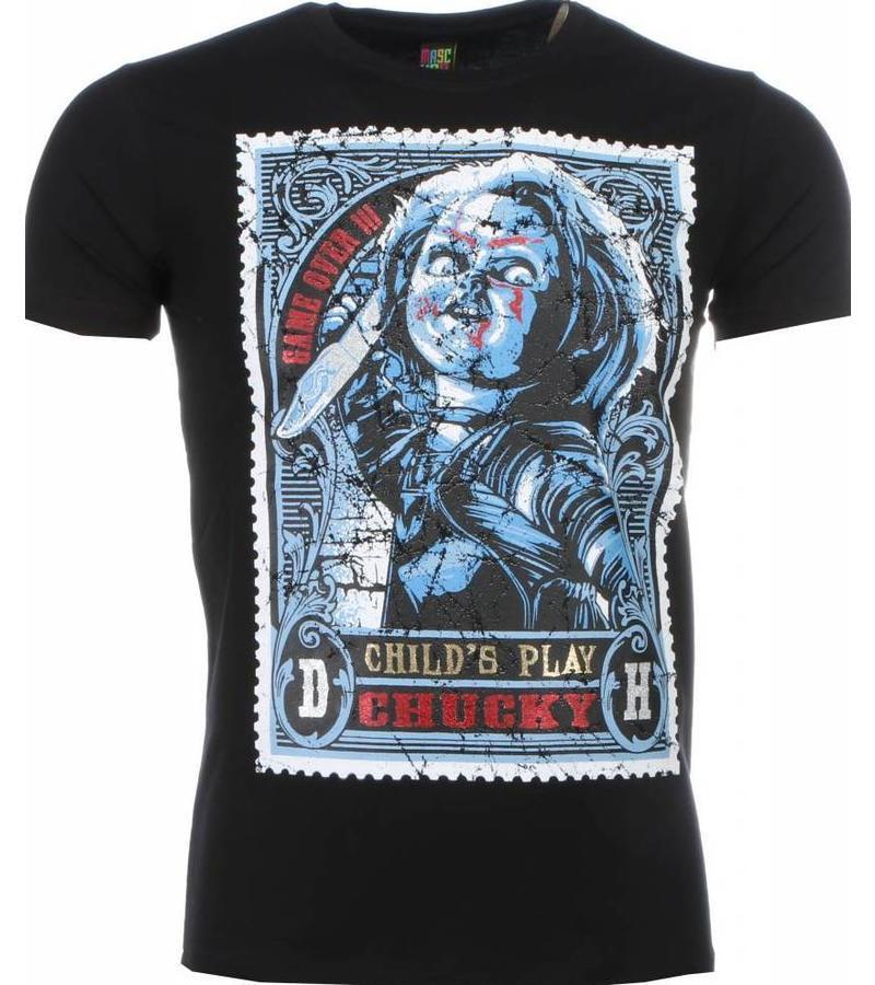 Mascherano Chucky Poster Print - T Shirt Herr - 2006Z - Svart