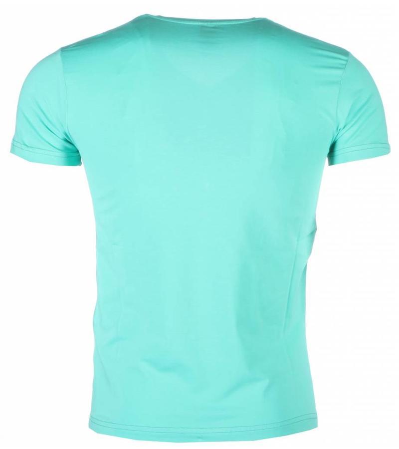Mascherano James Bond Casino Royale - Man T Shirt - 1416G - Grön