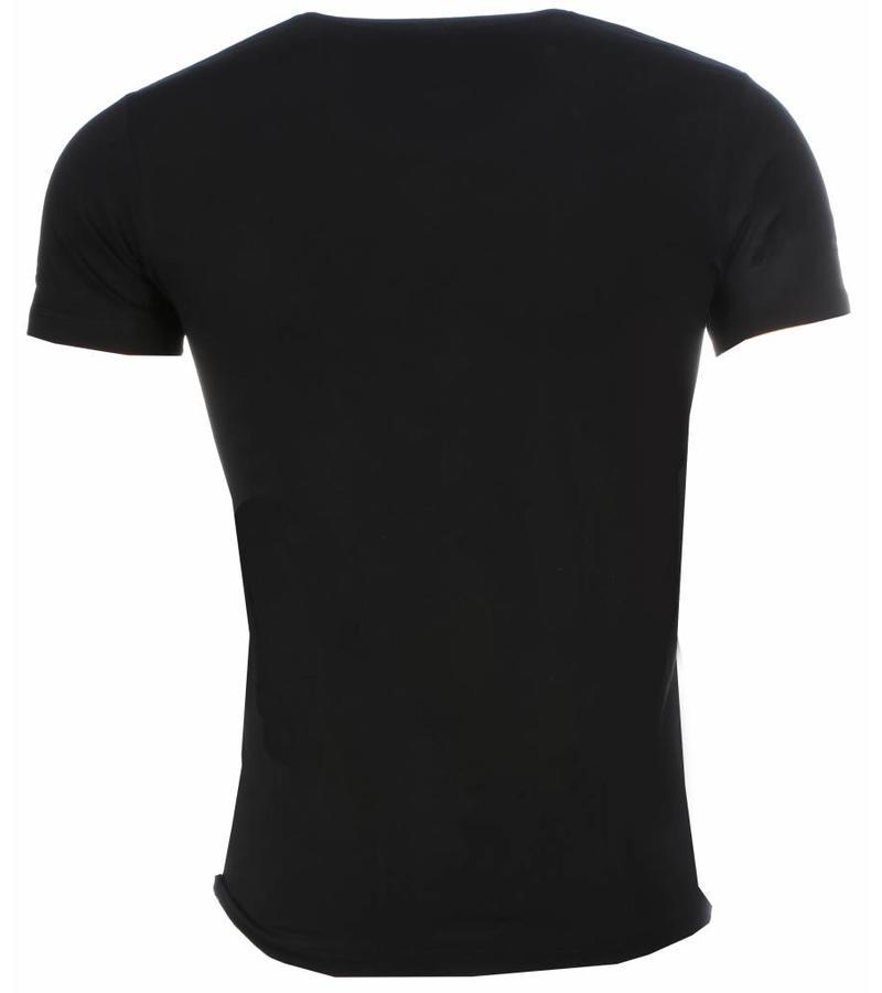 Mascherano Scarface Money Power Respect - Herr T Shirt - 1164Z - Svart
