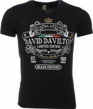 Mascherano T-shirt - Black Edition Print - Zwart