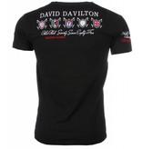 David Mello Broder Polo-Spelare - Man T Shirt- 1422Z - Svart