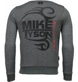 Local Fanatic Mike Tyson Rhinestone - Sweatshirt Herr - 4786Z - Antra