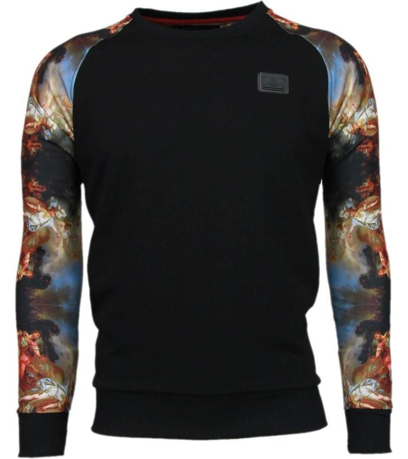 Local Fanatic Mythology Arm Motif Sweater - Tröjor Män - 5102Z - Svart