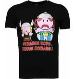 Mascherano Romans Billiga Sommarkläder - Man T Shirt - 51009Z - Svart