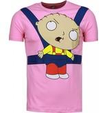 Mascherano Baby Stewie - Herr T Shirt - 1138R - Ros