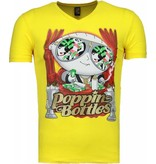Mascherano Poppin Stewie - T Shirt Herr - 1498G - Gul