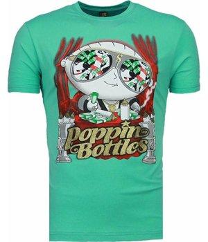 Mascherano Poppin Stewie - Herr T Shirt - 1498T - Turkos