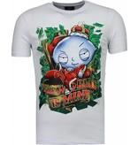 Mascherano Rich Stewie Money World - Herr T Shirt - 2005W - Vit