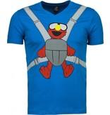 Mascherano Baby Bear Roliga - Man T Shirt - 54009B - Blå