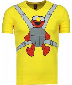 Mascherano Baby Bear Roliga - T Shirt Herr - 54009MG - Gul