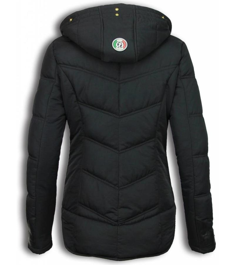 Milan Ferronetti Billiga dam Jackor Online - Basic Fit Exclusive - Sorento-R019 - Svart