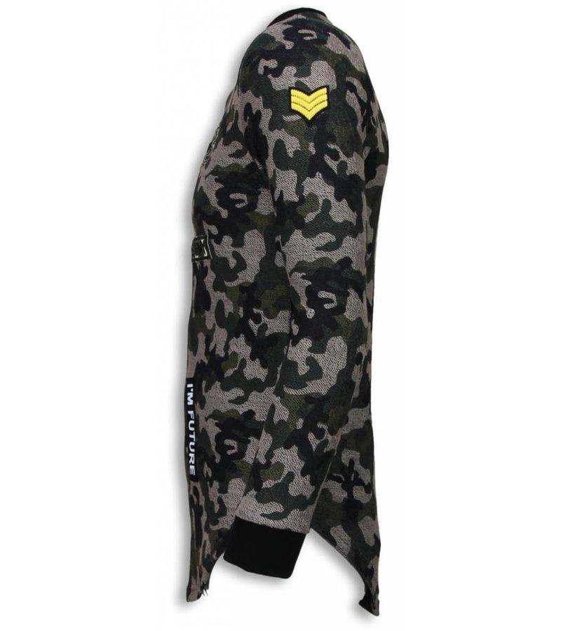 John H 23th US Army Camouflage Long Fit - Tröjor Herr - S2702G - Grön