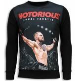 Local Fanatic Notorious McGregor Sweater - Tröjor Män - 5786Z - Svart