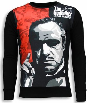 Local Fanatic Padrino The Godfather Sweater - Tröja Man - 5791Z - Svart