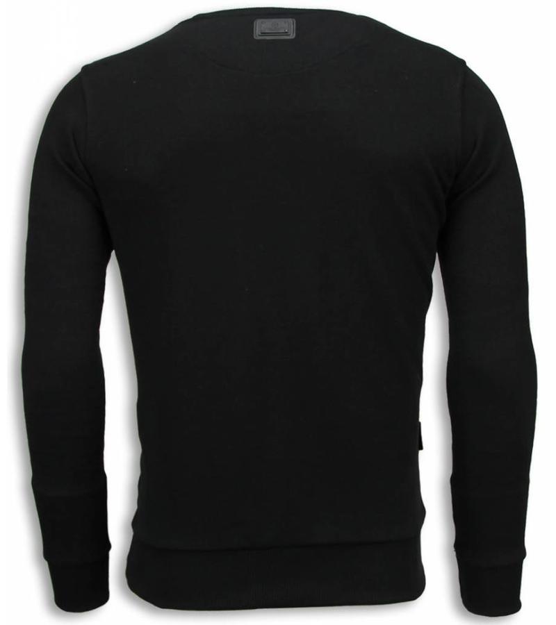 Local Fanatic Padrino The Godfather Sweater - Tröja Man - 5791Z - Svart