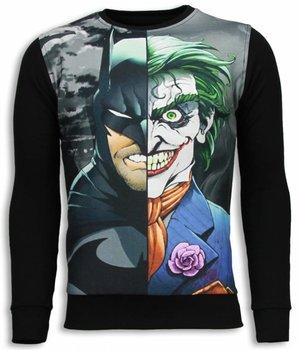 Local Fanatic Bad Joker Bad Man Sweater - Herr Tjocktröja - 5793Z - Svart