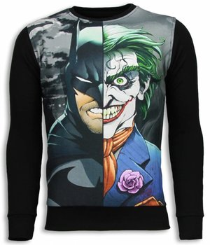 Local Fanatic Bad Joker - Sweater - Zwart